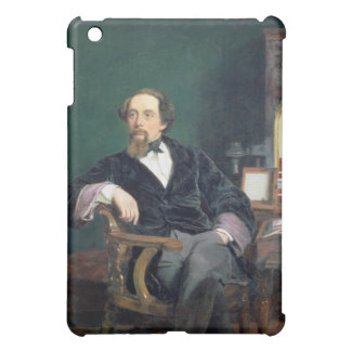Portrait of Charles Dickens (oil on canvas) Cover For The iPad Mini