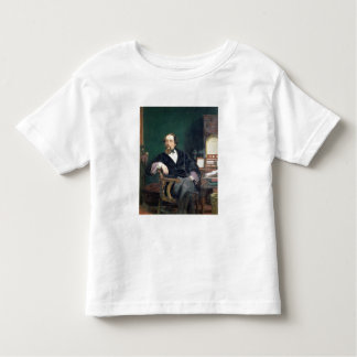 Portrait of Charles Dickens (oil on canvas) Toddler T-shirt