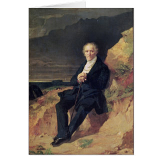 Portrait of Charles Fourier Card