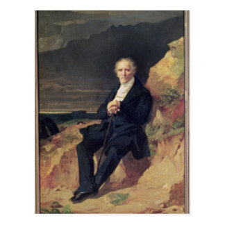 Portrait of Charles Fourier Postcard