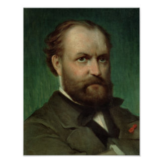 Portrait of Charles Gounod Poster