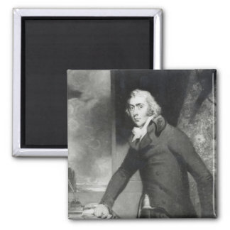 Portrait of Charles Grey, Earl Grey 2 Inch Square Magnet