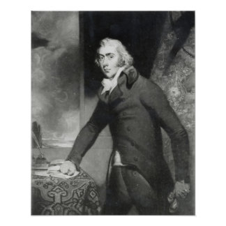Portrait of Charles Grey, Earl Grey Poster