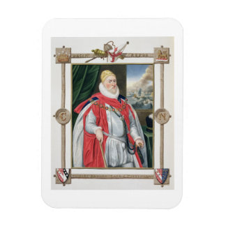 Portrait of Charles Howard (1536-1624) 2nd Baron o Magnets