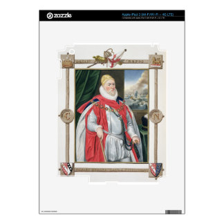 Portrait of Charles Howard (1536-1624) 2nd Baron o Skins For iPad 3