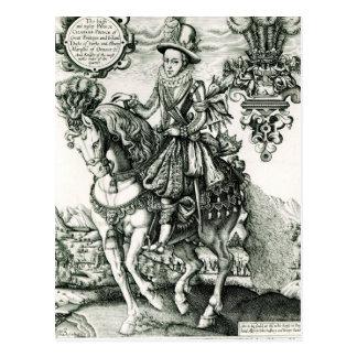 Portrait of Charles I as a Prince Postcard