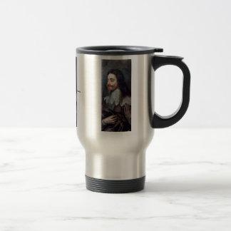 Portrait Of Charles I, King Of England Details Mug