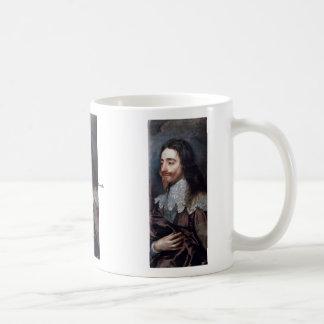 Portrait Of Charles I, King Of England Details Mugs