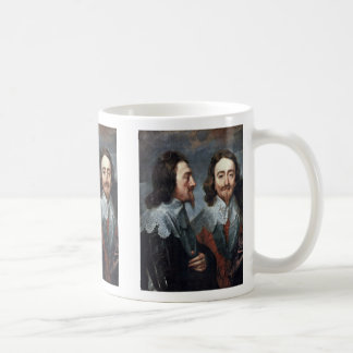 Portrait Of Charles I, King Of England Details Coffee Mugs