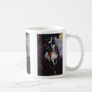 Portrait Of Charles I, King Of England Mug