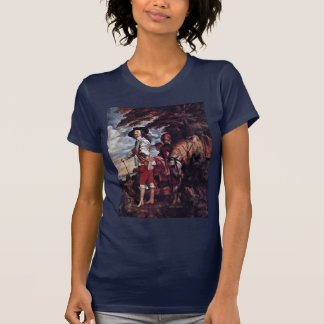 Portrait Of Charles I, King Of England T-Shirt