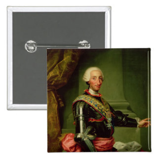 Portrait of Charles III  c.1761 Buttons