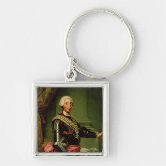 Portrait of Charles III  c.1761 Keychain