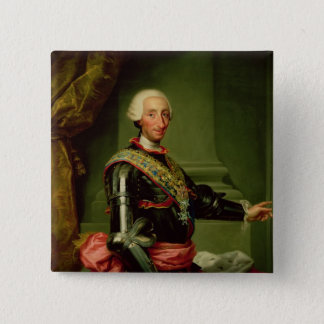 Portrait of Charles III  c.1761 Pinback Button
