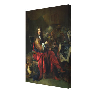 Portrait of Charles Le Brun (1619-90) 1686 (oil on Canvas Print