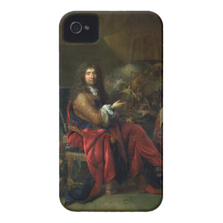 Portrait of Charles Le Brun (1619-90) 1686 (oil on iPhone 4 Cases