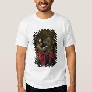 Portrait of Charles Le Brun (1619-90) 1686 (oil on T-shirt