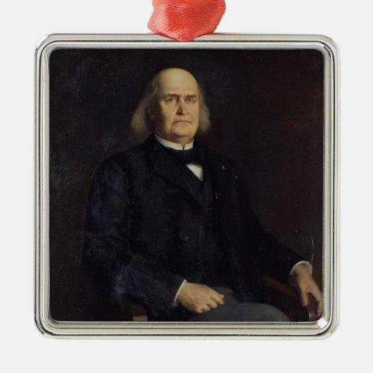 Portrait of Charles Leconte de Lisle  1885 Metal Ornament