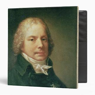 Portrait of Charles Maurice 3 Ring Binder