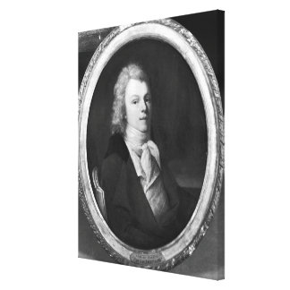 Portrait of Charles Maurice Canvas Print