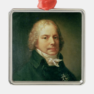 Portrait of Charles Maurice Metal Ornament
