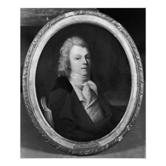 Portrait of Charles Maurice Poster