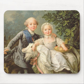 Portrait of Charles Philippe of France (1757-1836) Mouse Pad