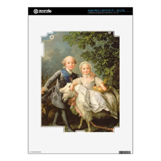 Portrait of Charles Philippe of France (1757-1836) Skins For iPad 3