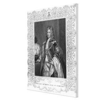 Portrait of Charles Seymour, Duke of Somerset Canvas Print
