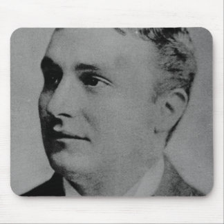 Portrait of Charles Spencer Chaplin, Sr Mouse Pad