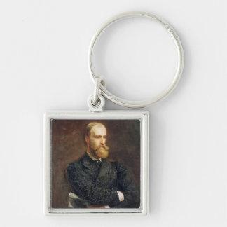 Portrait of Charles Stewart Parnell  1892 Keychains