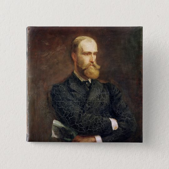 Portrait of Charles Stewart Parnell  1892 Pinback Button