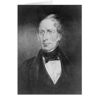 Portrait of Charles Sturt  at the age of 54 Cards