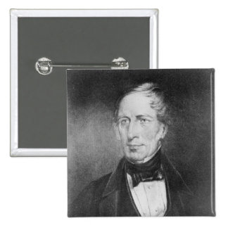 Portrait of Charles Sturt  at the age of 54 Pinback Button
