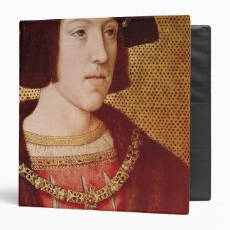 Portrait of Charles V 3 Ring Binder