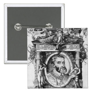 Portrait of Charles V , Holy Roman Emperor Pinback Button