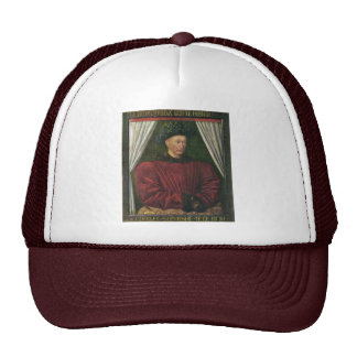 Portrait Of Charles Vii By Fouquet Jean Best Qual Hats