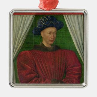 Portrait of Charles VII, c.1445-50 Metal Ornament