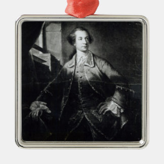 Portrait of Charles Watson-Wentworth Metal Ornament