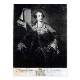 Portrait of Charles Watson-Wentworth Postcard