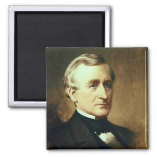 Portrait of Charles Wilkes  1870 2 Inch Square Magnet
