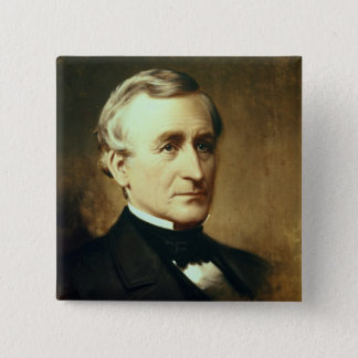 Portrait of Charles Wilkes  1870 Pinback Button