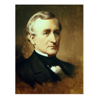 Portrait of Charles Wilkes  1870 Postcard