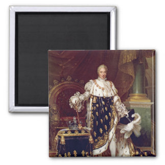 Portrait of Charles X  in Coronation Robes, 1827 Magnet