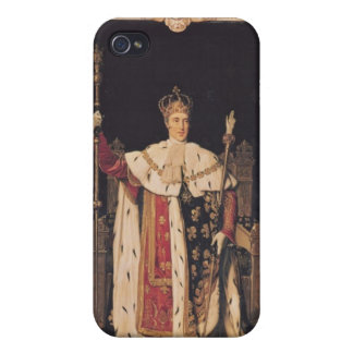Portrait of Charles X  in Coronation Robes, 1829 iPhone 4 Cover