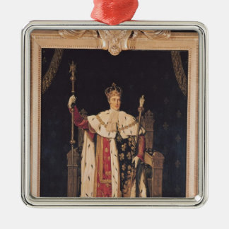 Portrait of Charles X  in Coronation Robes, 1829 Metal Ornament