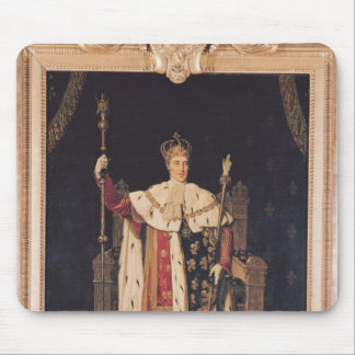 Portrait of Charles X  in Coronation Robes, 1829 Mouse Pad