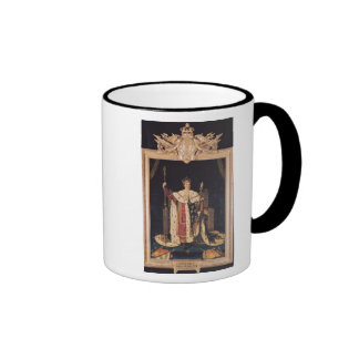 Portrait of Charles X  in Coronation Robes, 1829 Ringer Coffee Mug