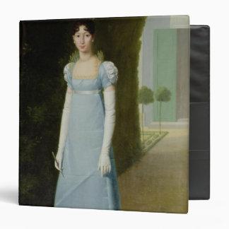 Portrait of Charlotte Bonaparte  1808 3 Ring Binder