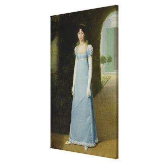 Portrait of Charlotte Bonaparte  1808 Canvas Print